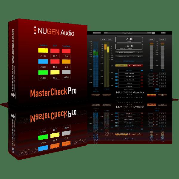 NUGEN Audio MasterCheck Pro v1.7.0.1 + Vst Crack Free Download